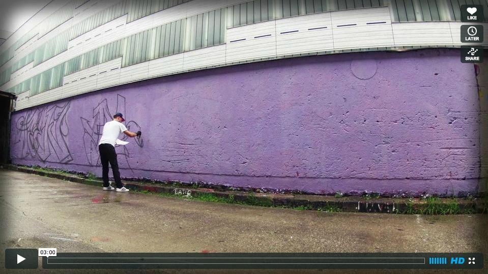 ART AVENUE exklusiv: die Entstehung von Urban Art Kunstwerken