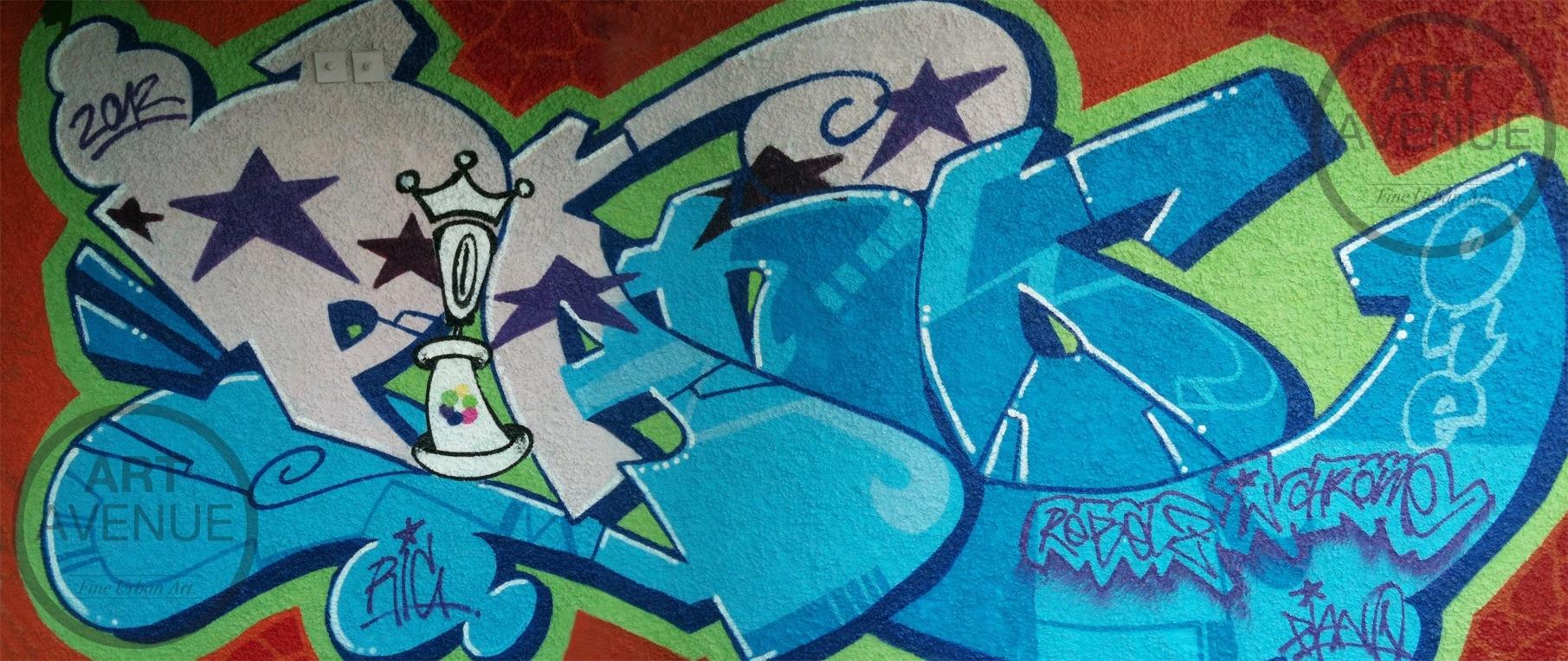 ART AVENUE: 25 Years Munich Oldschool Graffiti