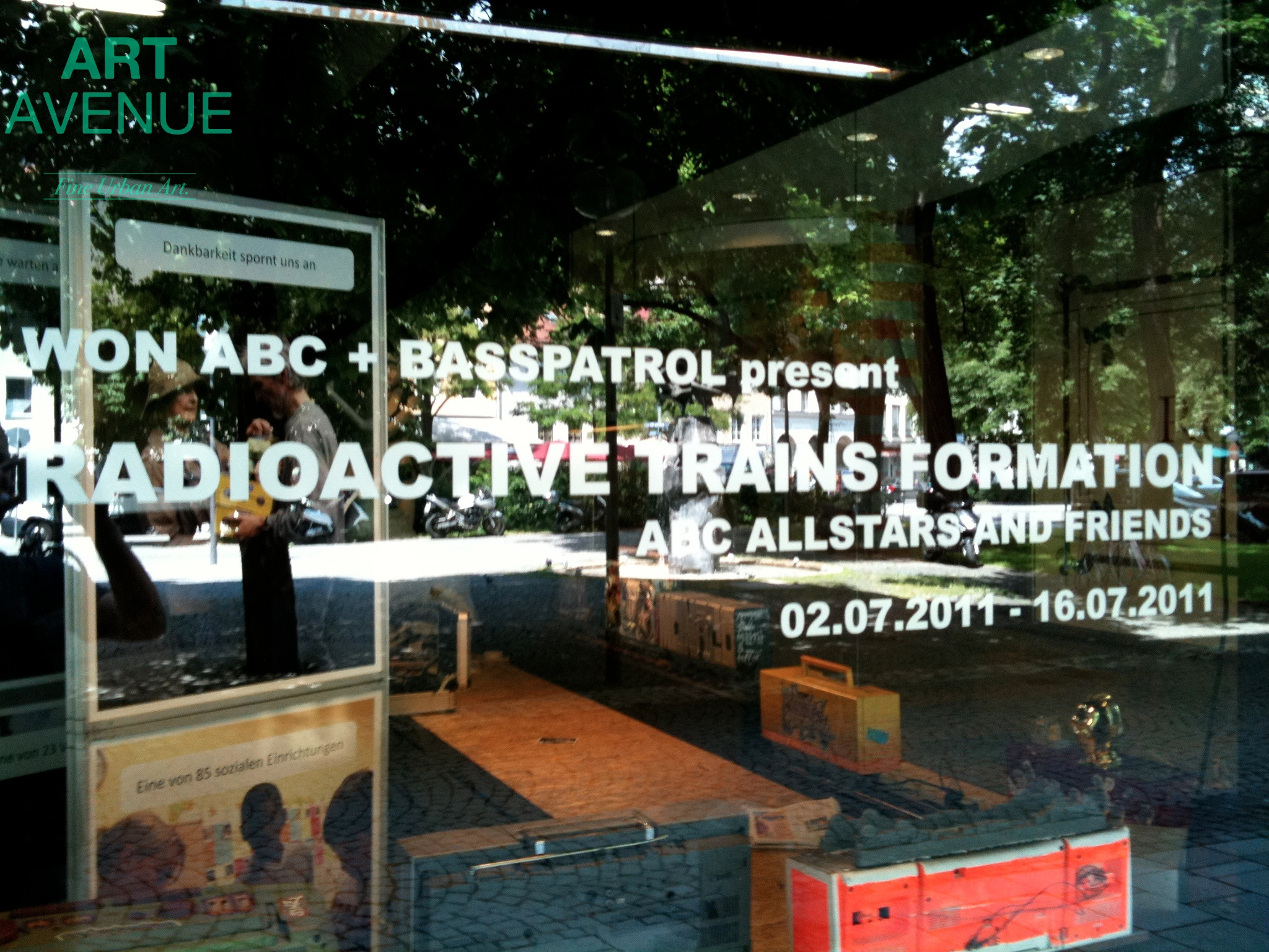 ART AVENUE Retrospektive: Radioactive Trains – WON ABC ALLSTARZ & FRIENDS