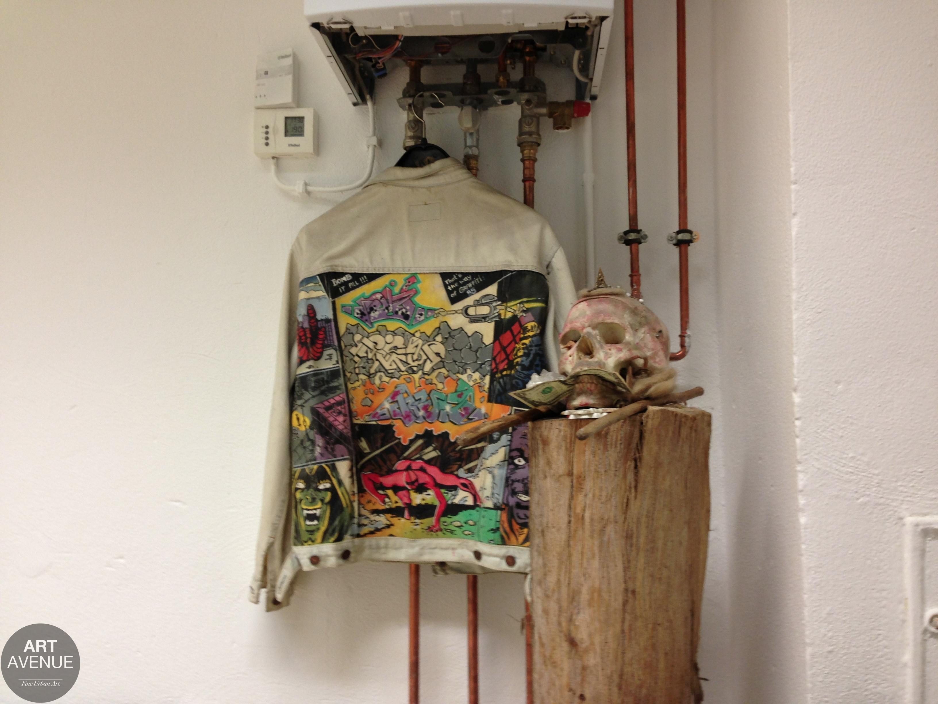 ART AVENUE History –the 1985 writer jacket of WON ABC