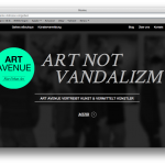 ART AVENUE ART NOT VANDALIZM