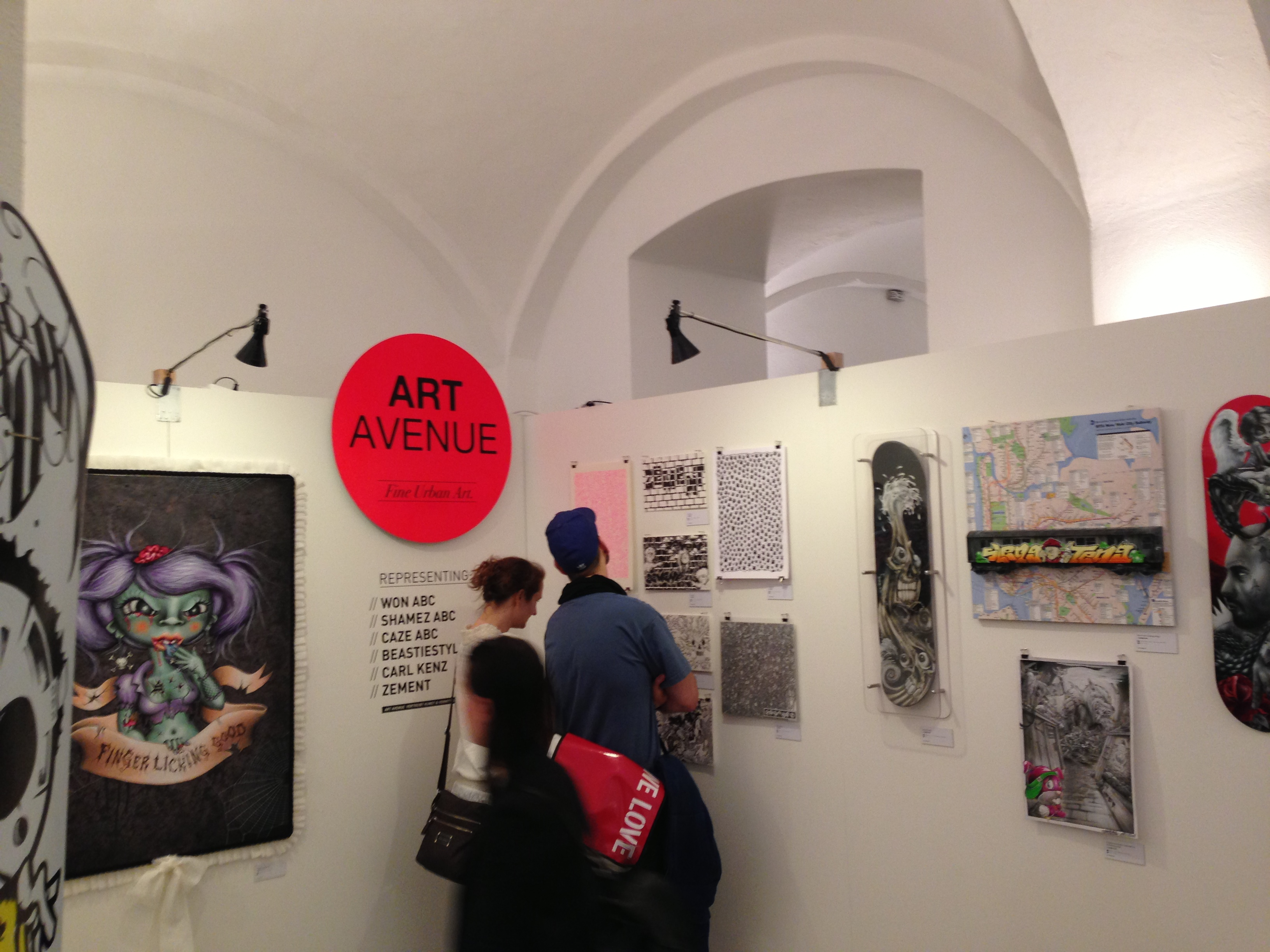 ART AVENUE at Stroke Munich 2013