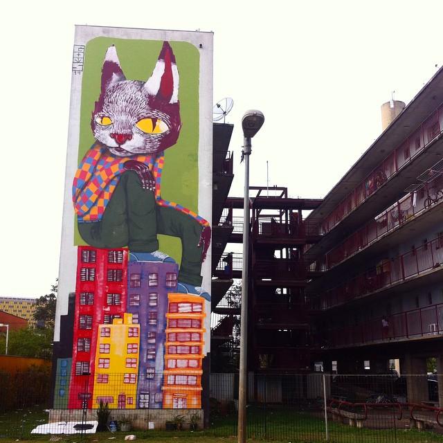 ART AVENUE Brazil: Thiago Goms 16 m high in São Paulo