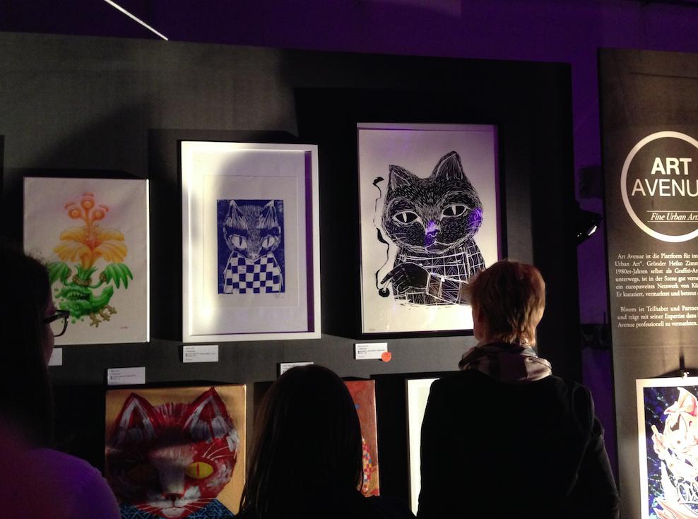 ART AVENUE Show auf der Bloom 10-Jahres-Feier