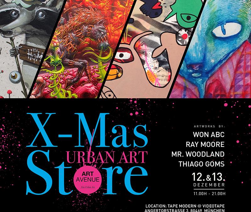 Urbane Kunst und ausgefallene Weihnachtsgeschenke – ART AVENUE X-Mas Store
