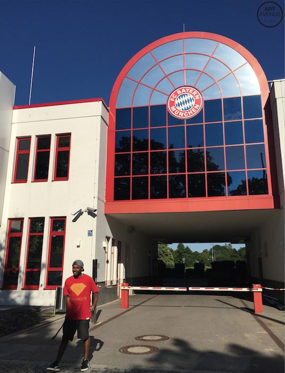 Tainan at Säbener Str. // FC Bayern ole ole