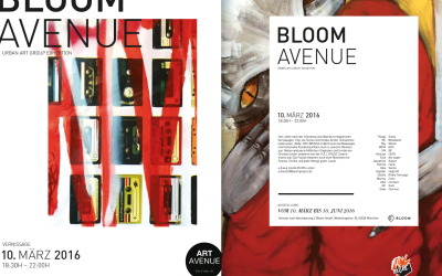 BLOOM AVENUE // URBAN ART GROUP EXHIBITION