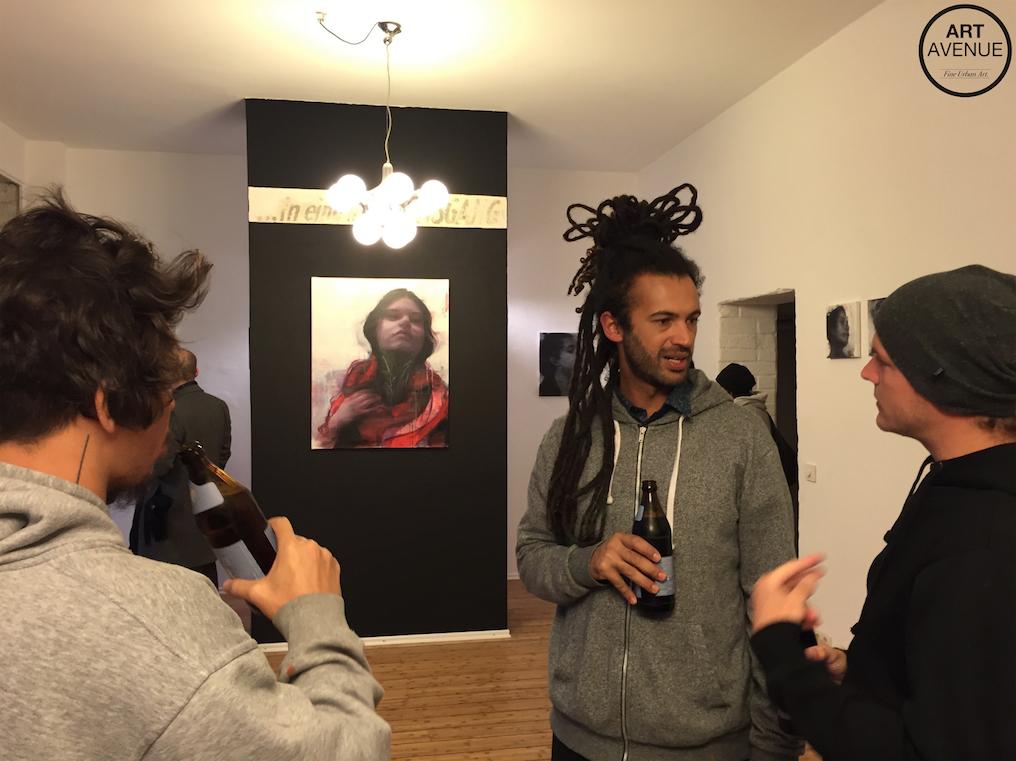 ENIVO Artist & Founder of A7MA Gallery from São Paulo