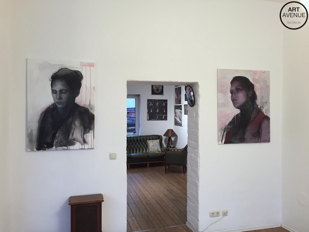Bosoletti solo show Art Avenue Urban Art Gallery