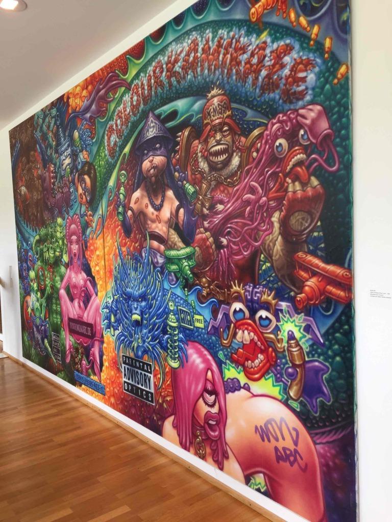WON ABC & Friends ART AVENUE Urban Art Galerie Muenchen